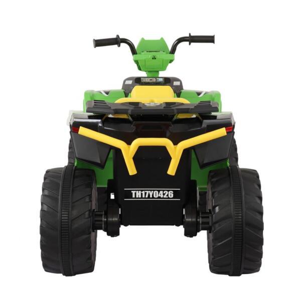 12V Battery Powered Kids Atv Ride On, Green 12v electric atv for kids green 3