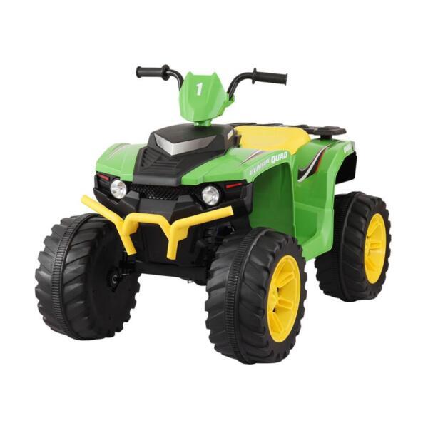 12V Battery Powered Kids Atv Ride On, Green 12v electric atv for kids green 5