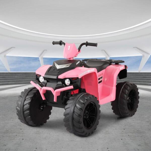 12V Electric Atv for Kids, Pink 12v electric atv for kids pink 0 1