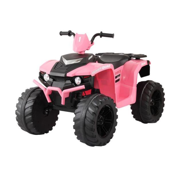 12V Electric Atv for Kids, Pink 12v electric atv for kids pink 6
