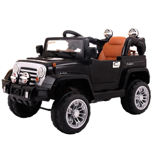 12V Kid Truck Ride on Baby Cars with Remote 12v kid ride on electric truck black 0 ride on