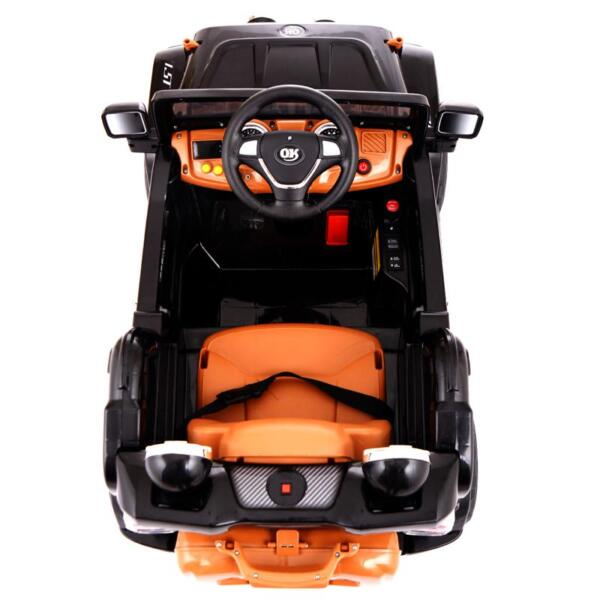 12V Kid Truck Ride on Baby Cars with Remote 12v kid ride on electric truck black 12 ride on