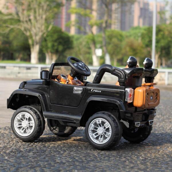 12V Kid Truck Ride on Baby Cars with Remote 12v kid ride on electric truck black 21 ride on