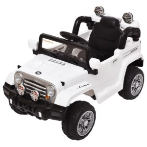 Selling 12v kid ride on electric truck white 12 best selling on TOBBI