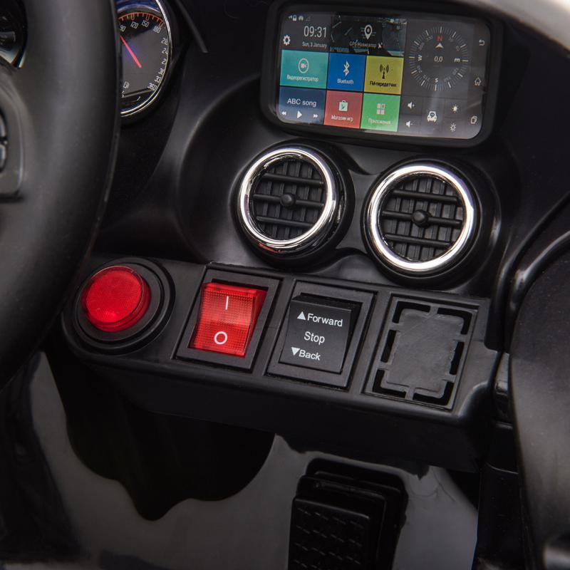 12V Mercedes AMG GT Ride On Car Kids Electric Cars with Remote, Black 12v kids electric car mercedes amg gt ride on toy black 18 1