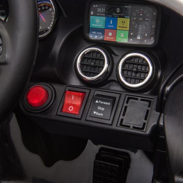 12V Mercedes AMG GT Ride On Car Kids Electric Cars with Remote, Black 12v kids electric car mercedes amg gt ride on toy black 18