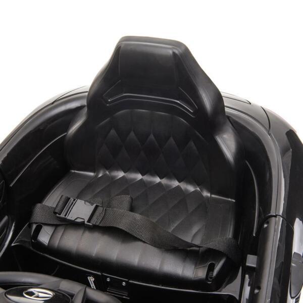 12V Mercedes AMG GT Ride On Car Kids Electric Cars with Remote, Black 12v kids electric car mercedes amg gt ride on toy black 20