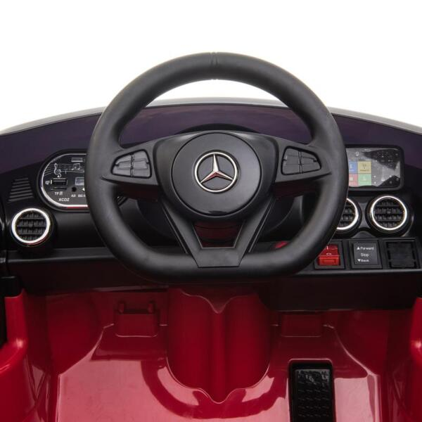 12V Mercedes AMG GT Ride On Car Kids Electric Cars with Remote, Red 12v kids electric car mercedes amg gt ride on toy red 17