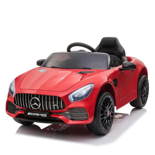 12V Mercedes AMG GT Ride On Car Kids Electric Cars with Remote, Red 12v kids electric car mercedes amg gt ride on toy red 8