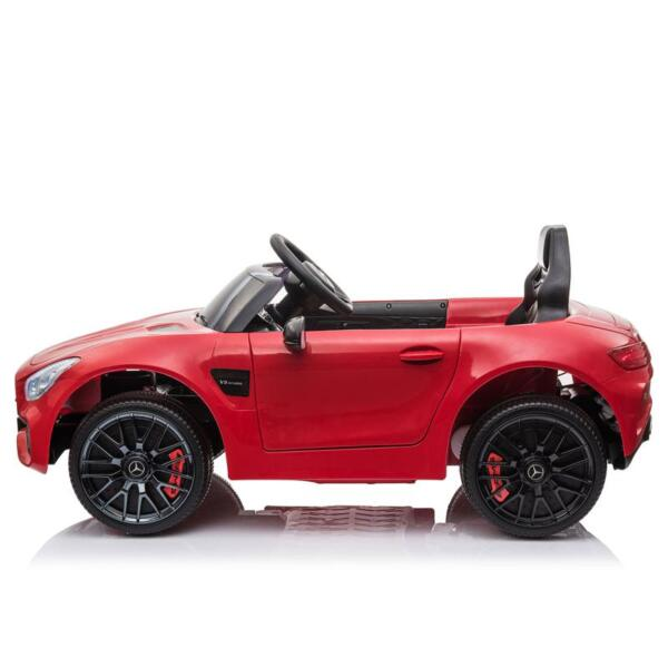 12V Mercedes AMG GT Ride On Car Kids Electric Cars with Remote, Red 12v kids electric car mercedes amg gt ride on toy red 9