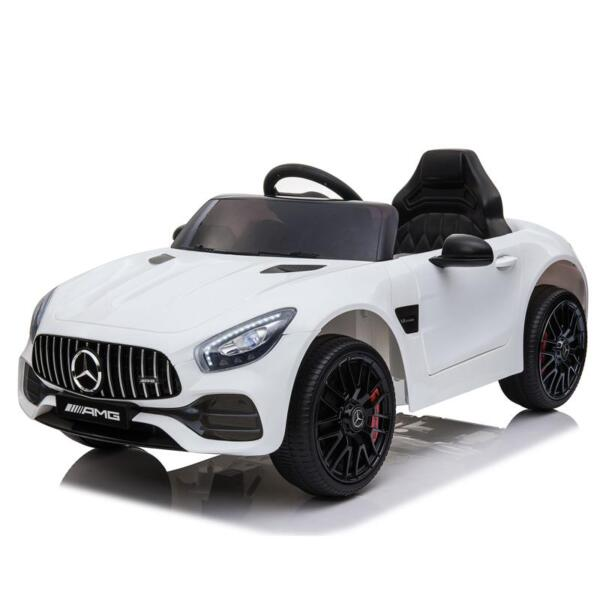 12V Kids Electric Car Mercedes AMG GT Ride On Toy, White 12v kids electric car mercedes amg gt ride on toy white 8 1