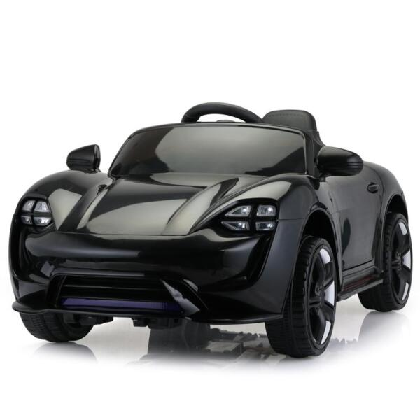 12v Kids Electric Ride On Car with Remote Control, Black 12v kids electric ride on car with remote control black 1