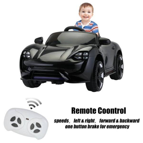 12v Kids Electric Ride On Car with Remote Control, Black 12v kids electric ride on car with remote control black 27