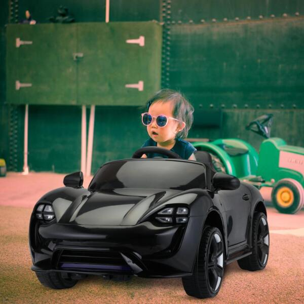 12v Kids Electric Ride On Car with Remote Control, Black 12v kids electric ride on car with remote control black 9
