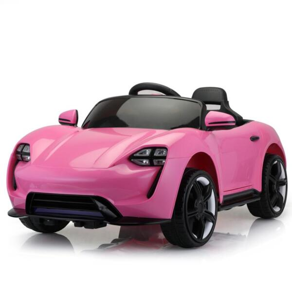 12v Kids Electric Ride On Car with Remote Control, Pink 12v kids electric ride on car with remote control pink 1