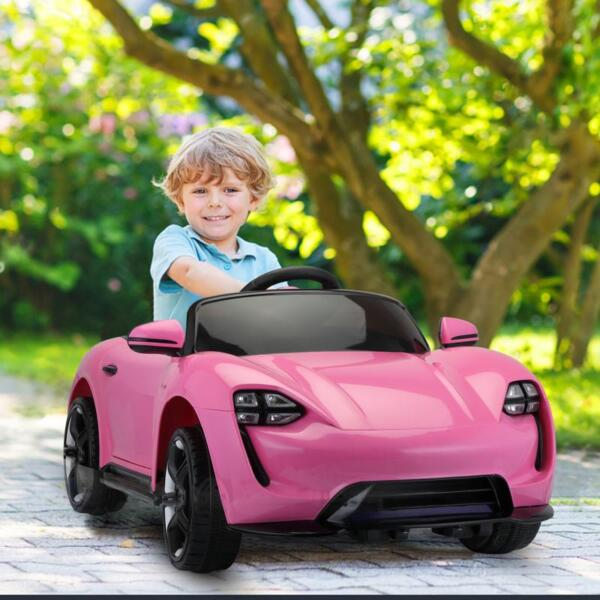 12v Kids Electric Ride On Car with Remote Control, Pink 12v kids electric ride on car with remote control pink 12