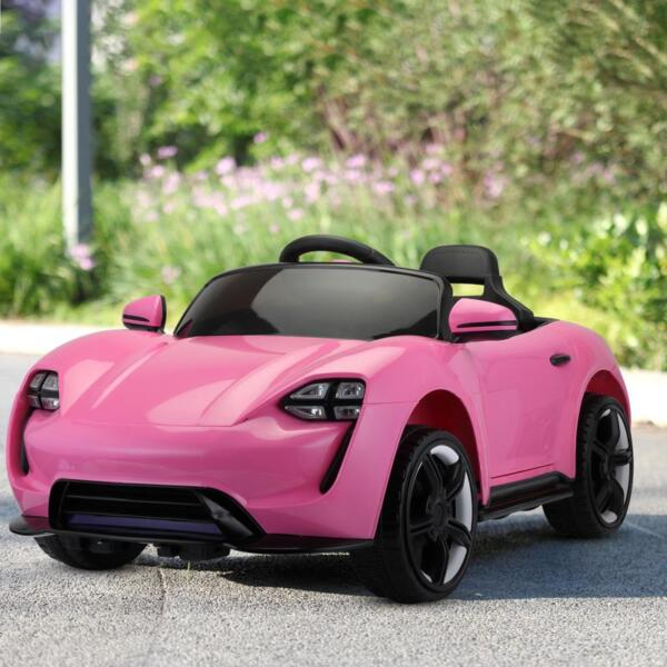 12v Kids Electric Ride On Car with Remote Control, Pink 12v kids electric ride on car with remote control pink 13