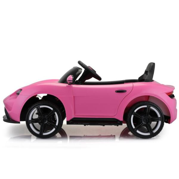 12v Kids Electric Ride On Car with Remote Control, Pink 12v kids electric ride on car with remote control pink 3
