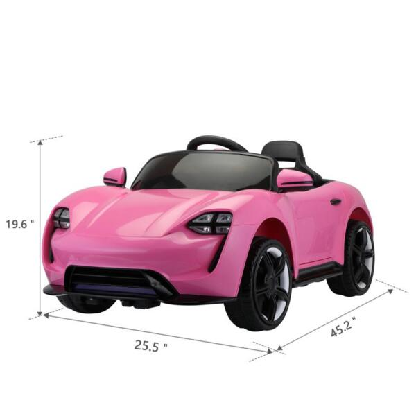 12v Kids Electric Ride On Car with Remote Control, Pink 12v kids electric ride on car with remote control pink 8