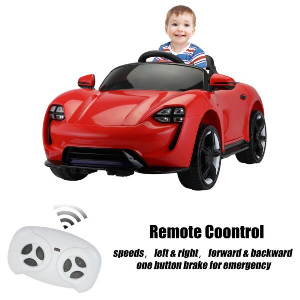 12v Kids Electric Ride On Car with Remote Control, Red 12v kids electric ride on car with remote control red 27