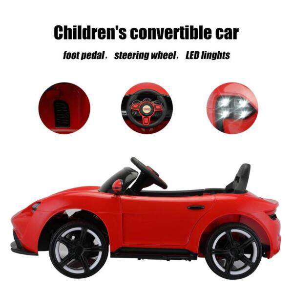12v Kids Electric Ride On Car with Remote Control, Red 12v kids electric ride on car with remote control red 28 1