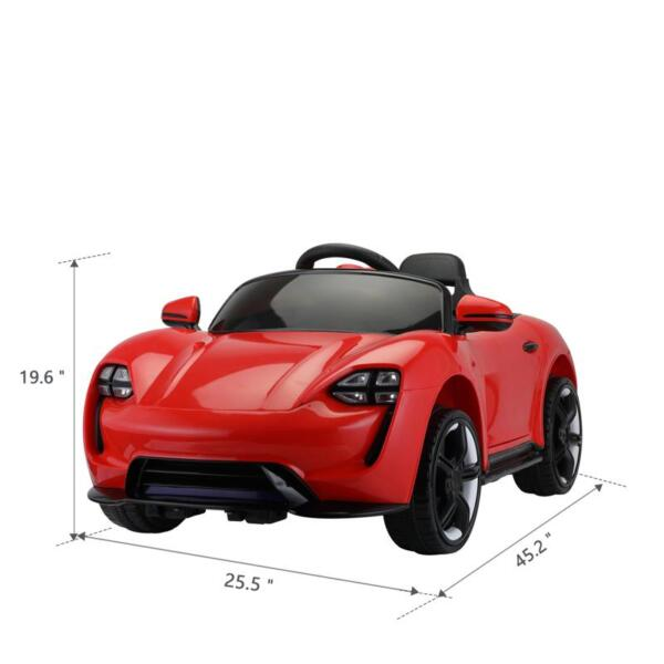 12v Kids Electric Ride On Car with Remote Control, Red 12v kids electric ride on car with remote control red 8