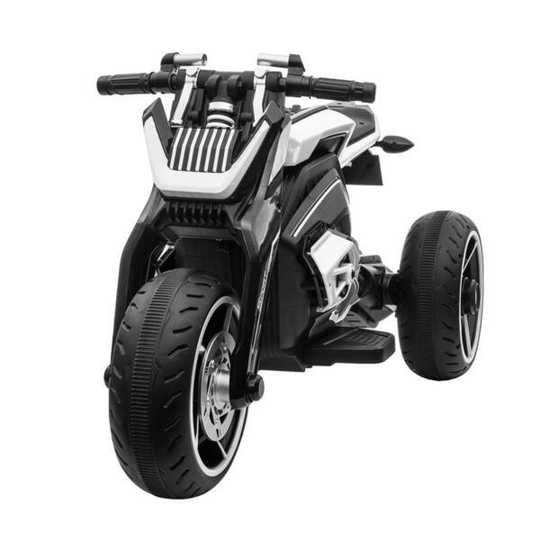 6V Battery Power Ride On Motorcycle for Kids, Black 12v kids police ride on truck white 2 3 1