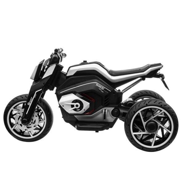 6V Battery Power Ride On Motorcycle for Kids, Black 12v kids police ride on truck white 2 4 1