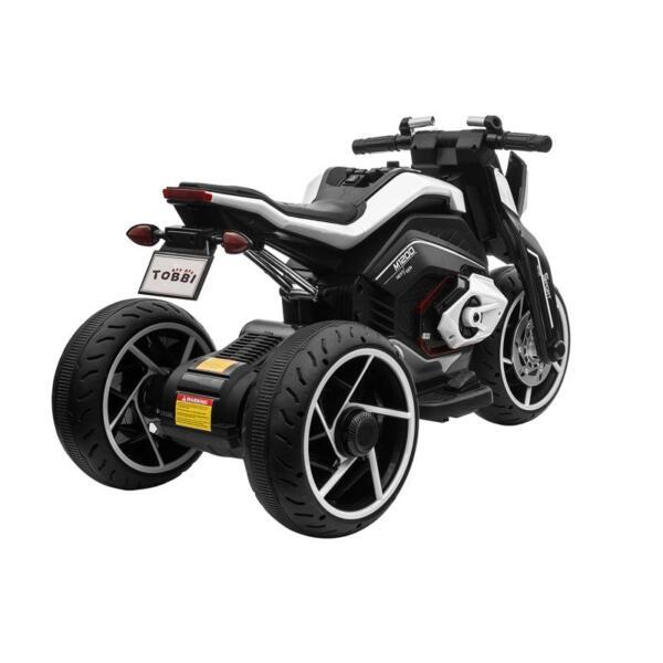 6V Battery Power Ride On Motorcycle for Kids, Black 12v kids police ride on truck white 2 6 1