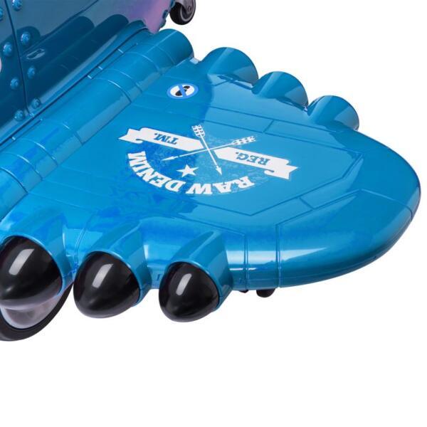 12V Kids Electric Toy Plane Car, Blue 12v kids ride on airplane blue 19