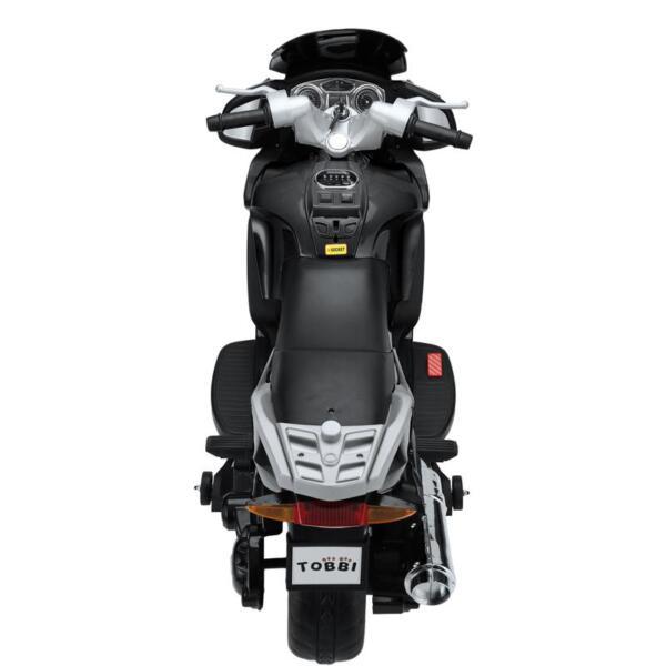 12V Electric Motorcycle for kids, Black 12v kids ride on motorcycle battery powered bike black 7