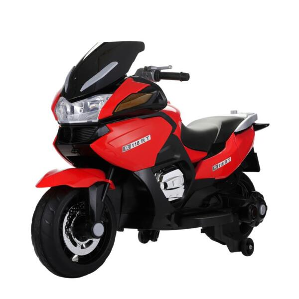 12V Kids Battery Motorcycle for 8 Year Old 12v kids ride on motorcycle battery powered bike red 2