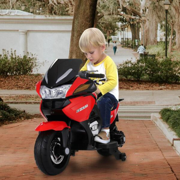 12V Kids Battery Motorcycle for 8 Year Old 12v kids ride on motorcycle battery powered bike red 22 1