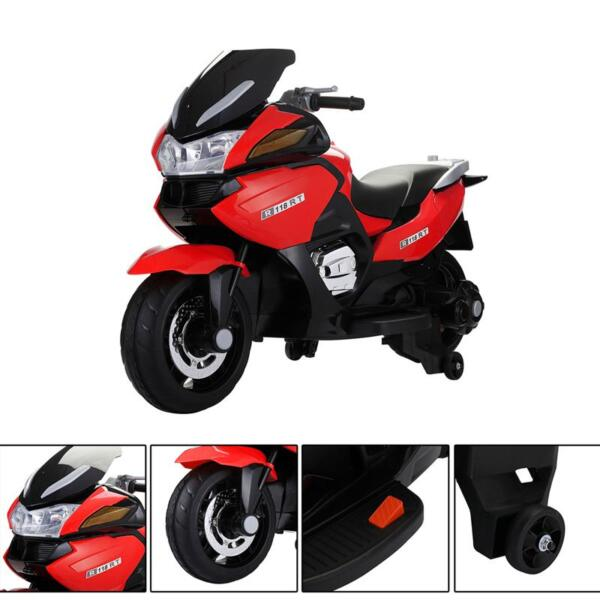 12V Kids Battery Motorcycle for 8 Year Old 12v kids ride on motorcycle battery powered bike red 27 1