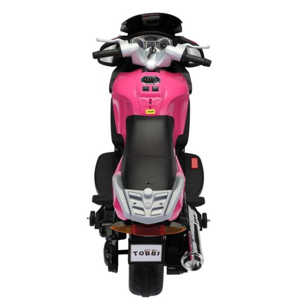 12V Ride On Children's Electric Motorcycle for Toddler 12v kids ride on motorcycle battery powered bike rose red 5