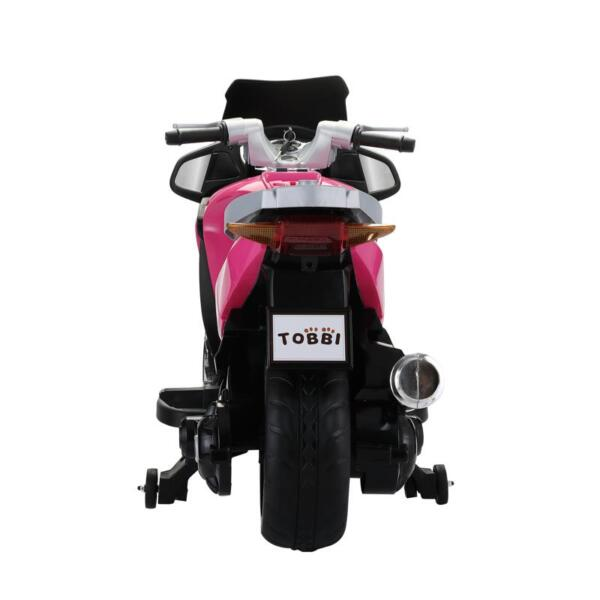 12V Ride On Children's Electric Motorcycle for Toddler 12v kids ride on motorcycle battery powered bike rose red 7