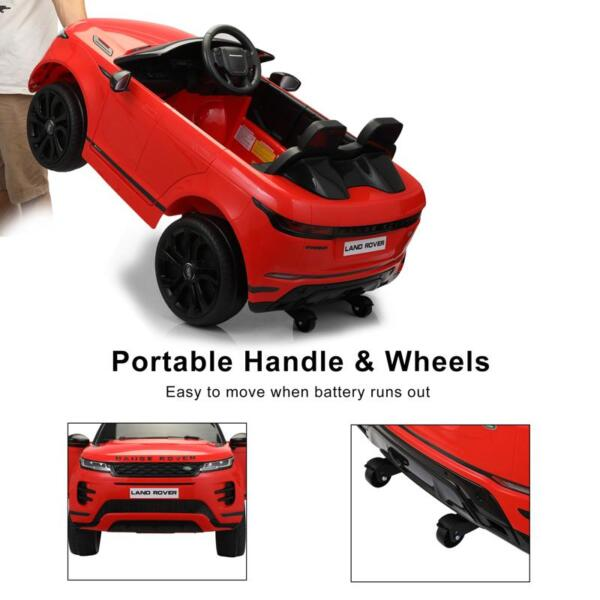 12V Land Rover Ride on SUV Car for Kids, Red 12v land rover ride on suv car for kids red 18