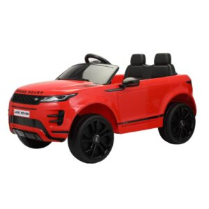 Father's Day 12v land rover ride on suv car for kids red 4