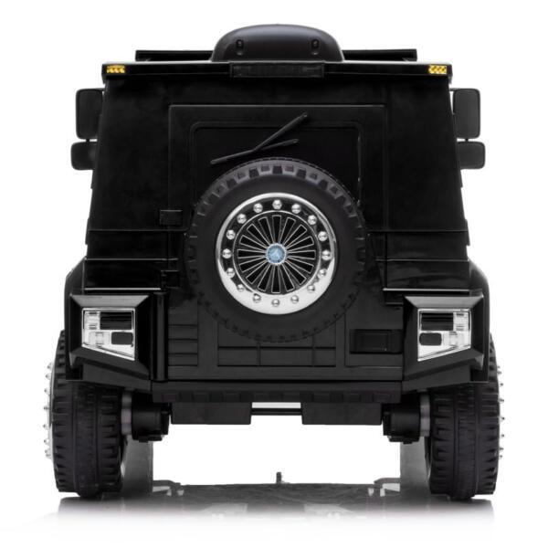 12V Mercedes Benz Unimog U500, Black 12v mercedes benz unimog u500 black 4