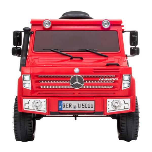12V Mercedes Benz Unimog U500, Red 12v mercedes benz unimog u500 red 0