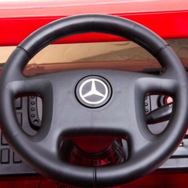 12V Mercedes Benz Unimog U500, Red 12v mercedes benz unimog u500 red 21