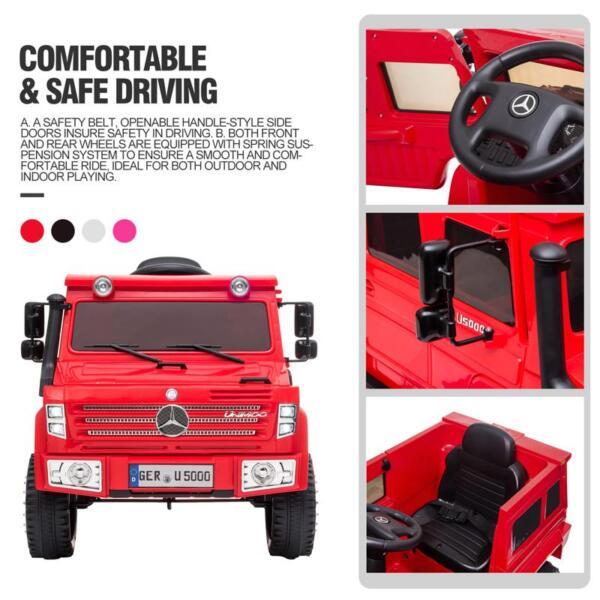 12V Mercedes Benz Unimog U500, Red 12v mercedes benz unimog u500 red 31
