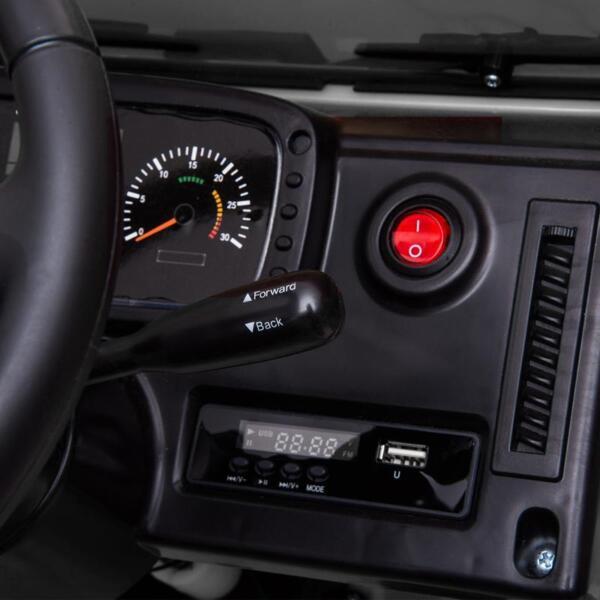 12V Mercedes Benz Unimog U500, White 12v mercedes benz unimog u500 white 26