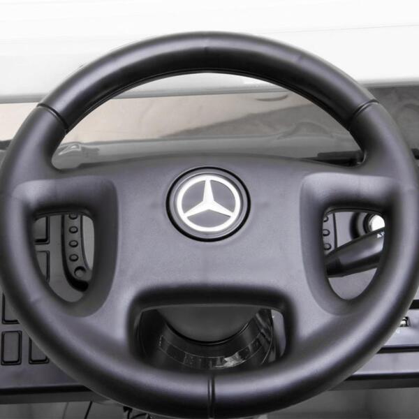12V Mercedes Benz Unimog U500, White 12v mercedes benz unimog u500 white 27