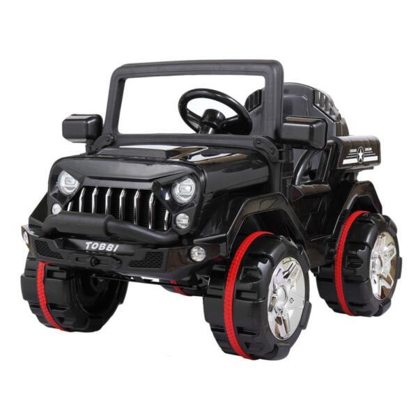 12V Electric Kids Ride-on SUV Toy Car, Black 12v powerful kids electric suv black 2 0
