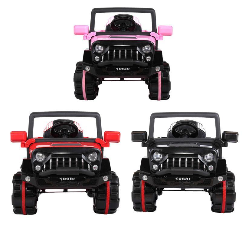 12V Electric Kids Ride-on SUV Toy Car, Black 12v powerful kids electric suv black 2 31