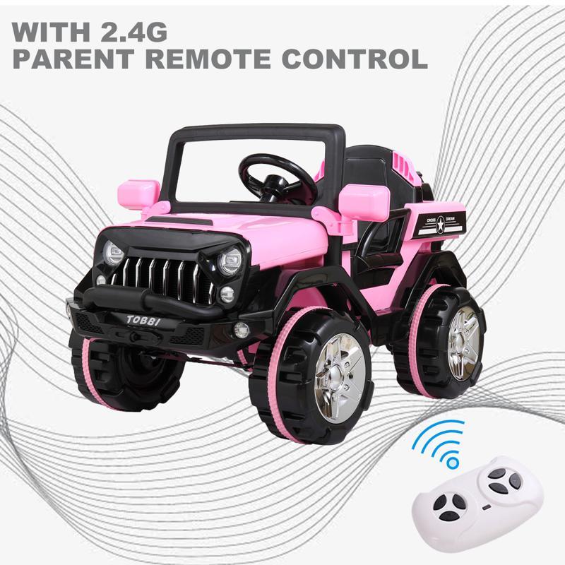 12V Powerful Off-Road Kids Electric SUV Car 12v powerful kids electric suv black 22 1