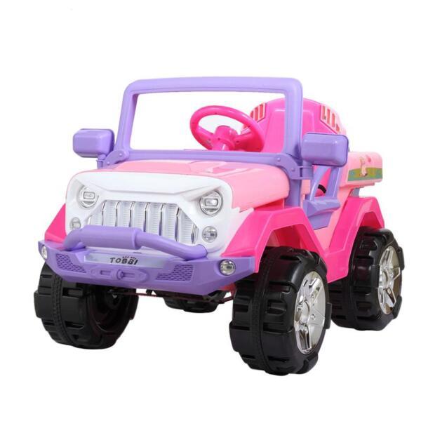 12V Powerful Kids Electric SUV, Pink 12v powerful kids electric suv pink 11