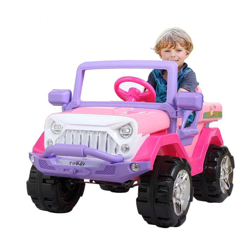 12V Ride-On SUV Toy Car for Toddlers 12v powerful kids electric suv pink 23
