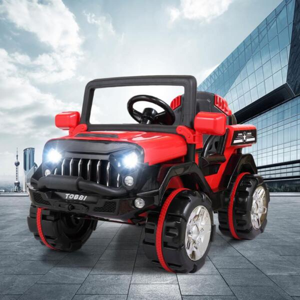 12V Powerful Kids Electric SUV, Red 12v powerful kids electric suv red 15 1
